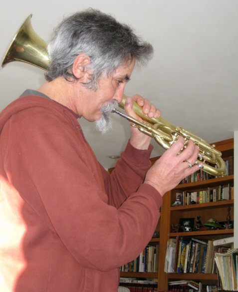Playing saxhorn - dif. view